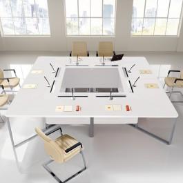 I-MEET 01 flexibel und innovative Meeting- und Konferenz Möbel, Besprechungs-Tisch, für Tagungen und Sitzungen
