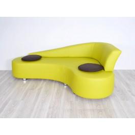 s-11  01  Designer Leder Sofa, Eck Loungesofa , Büro Besucher Sitzgruppe, Styl Couch