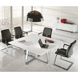 Seventies 13 Design Chefzimmer, Meetingtisch, Besprechungs-Tisch für 8 Personen