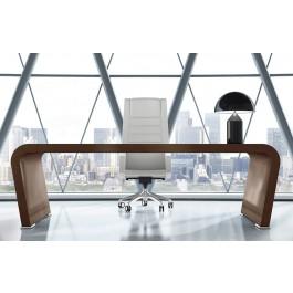 Vanity  01  Design Schreibtisch, exklusiv eindrucksvoll Hochglanz lackiert, Büroschreibtisch individuell lackierbar nach Kundenwunsch