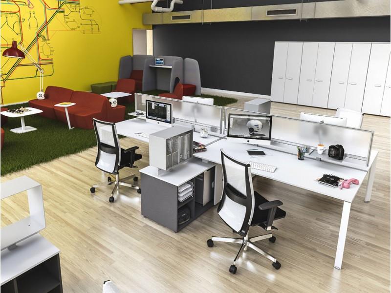 Arbeitsplatz büro schreibtisch 5TH - ELEMENT - Designer Teamarbeitsplatz-Möbel, Meeting und ...