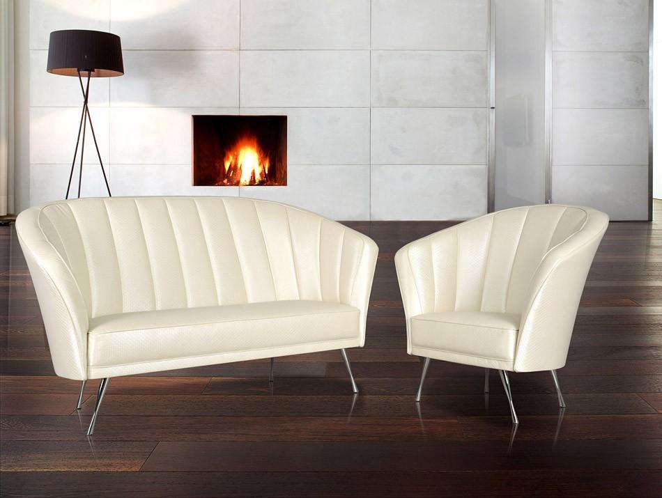 Designer Sessel   Sofa, 2 U0026 3 Sitzer / S 8, Klassisch In Hochwertigen Leder