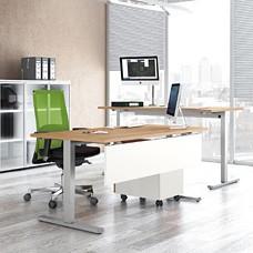 UP Schreibtisch mit Höhenverstellung, mechanisch oder elektrisch möglich, Steharbeitsplatz, ergonomisch