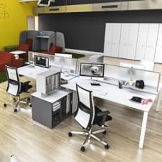 5th-Element Mitarbeiter Büroschreibtisch, Team-Arbeitsplatz