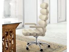 AIRONE Office - modernes Design, Leder Büro Drehstuhl, High-End Chefsessel