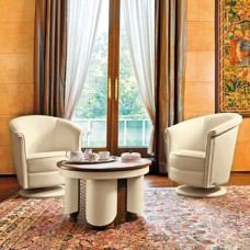 Atlantica  Leder Besucherstuhl, Konferenz-Stuhl, drehbar