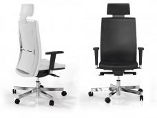 c-2 Designer Chefsessel in  Leder oder mit Netz