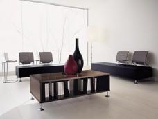 l-7 Lounge Einrichtung, Tisch für Wartebereich, Sofa-Sessel, Lounge-Tisch, Couchtisch