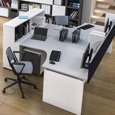 OXI Büroschreibtisch, Mitarbeiter Schreibtisch, Team Arbeitsplatz