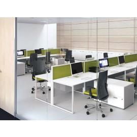 5th-Element 20 funktional, stylische Großraum Büroschreibtische, Farbdesign innovativ modern
