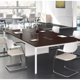 5th-Element 01 Meetingtisch, Besprechungstisch, Büromöbel, individuelles Design, Wenge