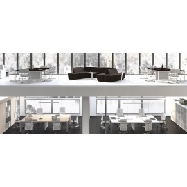 5th-Element 05 Konferenzraumlösungen, Meetingtisch, Besprechungstische