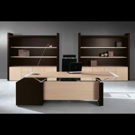 ABC 04 Designer Schreibtisch, Büromöbel, helle Eiche