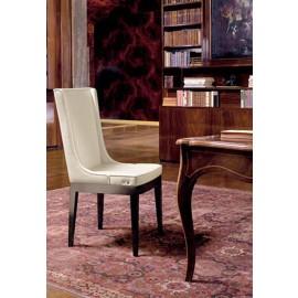 Aida  03 hochwertiger Leder Warte- und  Besucher- Stuhl