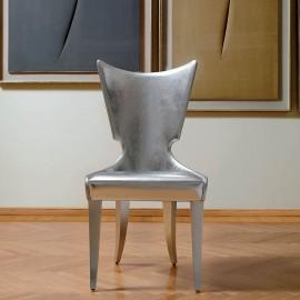 Artú  03 hochwertiger Besucherstuhl, Hotel- Lounge - Stuhl, individuelles Material handgefertigt