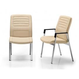 b-3 10 hochwertiger Konferenzstuhl, 4 Bein Fußgestell
