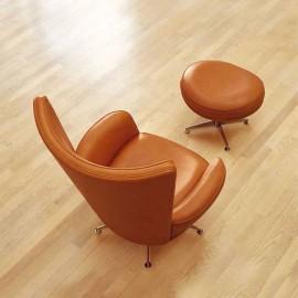 Buenavista  02 Relax-Sessel mit Fuß Hocker, ideal als Lounge-Sessel drehbar