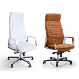 c-3 01 Chef- Drehstuhl, Chefsessel, hochwertiger Bürosessel