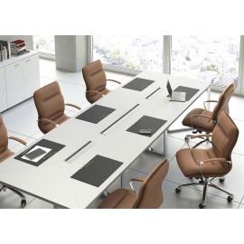 d-5 04 Leder-Konferenzstühle, Büro-Drehstuhl