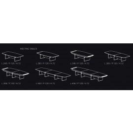 Bauformen und Größen der Konferenz Tische