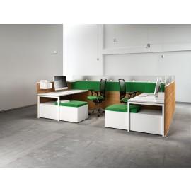 Fly 03 akustik Büromöbel, Schallschutz für ein ruhigeres Arbeitsklima, preiswert konfigurieren
