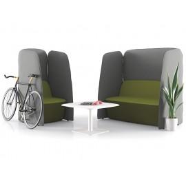 L1 01 Akustikschutz Sofa, Sessel, Loungeecke mit Schallschutz, Sessel