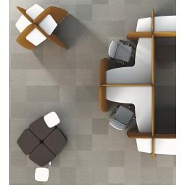 L1 03 Designer Smart Office, kompakte Akustikmöbel, Work Lounge, Schreibtische, Notebooktisch mit Schallschutz