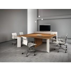 Manatta 02 Konferenztisch, Multimedia Meetingtisch, Konferenztisch