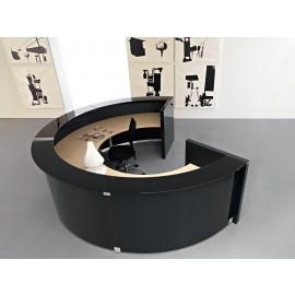 Mood 02 runde Empfangs Möbel, Büro Tesen, Rezeptions Möbel, Arzt-Theke, Hochglanz