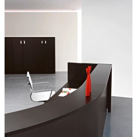 Mood 11-Details Empfangs Möbel geschwungen, komplett Holz Wenge