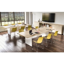 OXI 21Konferenz, Besprechungstisch, Pausenraum, Meetingtisch, zweifarbig