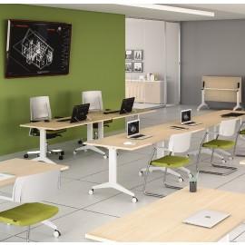 OYO 03 Klapptisch, Schulungstisch, Tagung, verkettbar, Schulungsraum, Konferenztisch klappbar, Seminartische hochwertig