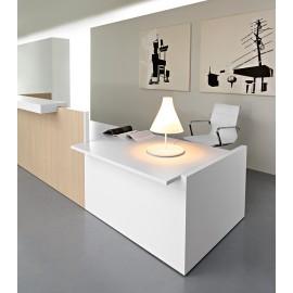 Riga 06 Arzttresen, Empfang, zweifarbiges Design