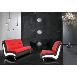 s-10  01  einzigartiger Designer Ledersessel - Loungesofa, außergewöhlicher Blickfang für Ihren Empfangsbereich, Warteraum oder Lounge
