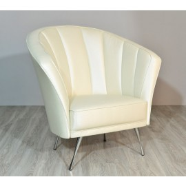 s-8  03 Designer Ledersessel, klassich komfortabler 1-Sitzer