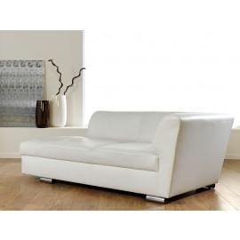 s-9  07  einladenes Büro Leder Chaiselongue, Lounge Relaxliege, Couch, Ottomane, Wartebereich und Chefbüro mit hohen Sitzkomfort