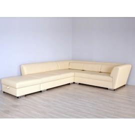 s-9  10  modernes Leder-Ecksofa, Lounge-Eckcouch, Besucher-Sofa, Chefbüro, sehr robust und bequem, preiswert