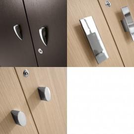 Studio 19 Details Schrank-Griffe, Büroschrank-Griffarten, Chrom