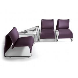 t-6  04 Wartebereich Sitzgruppe, Lounge Eck-Kaffeetisch