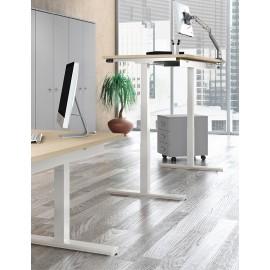 UP 04 Steh- Sitz- Tisch mit Höhenverstellung, elektromotorisch stufenlos, ergonomisches Design
