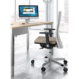 UP 10 Büro-Schreibtisch, Beine-mit Höhenverstellung, mit Kurbel von 65-85cm stufenlos verstellbar