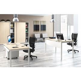 UP 11 Büroschreibtisch, Gestell höhenverstellbar, mechanisch 65-85