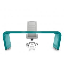 Vanity  15  Design Schreibtisch, modern minimalistisch im Design, Hochglanz lackiert, Chefschreibtisch kann auf Kundenwunsch individuell lackiert werden