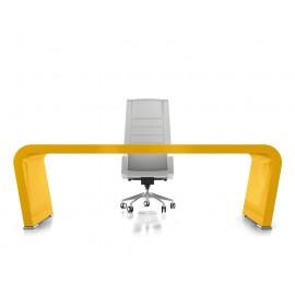 Vanity  18  Design Chef-Schreibtisch,  gelb lackiert