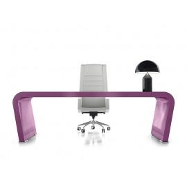 Vanity  19  Design Chef-Schreibtisch Hochglanz lila lackiert, individuell auf Kundenwunsch lackierbar