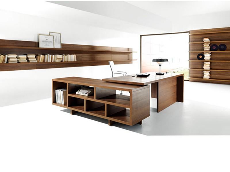 Schreibtisch modern, polarisierendes Design - Lithos ...