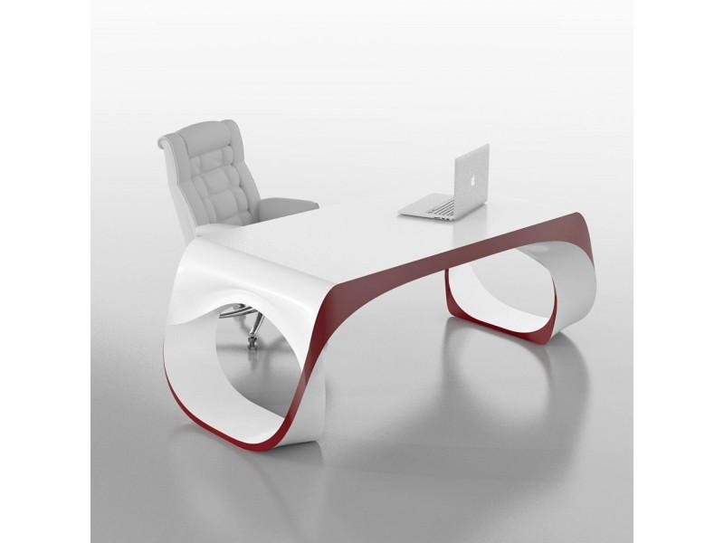 Schreibtisch weiß design  exklusiver Designer Schreibtisch - Chefmöbel Infinity