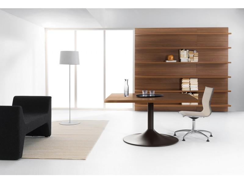 Schreibtisch modern polarisierendes design lithos au ergew hnliche m bel f r ihr b ro - Wandboard walnuss ...