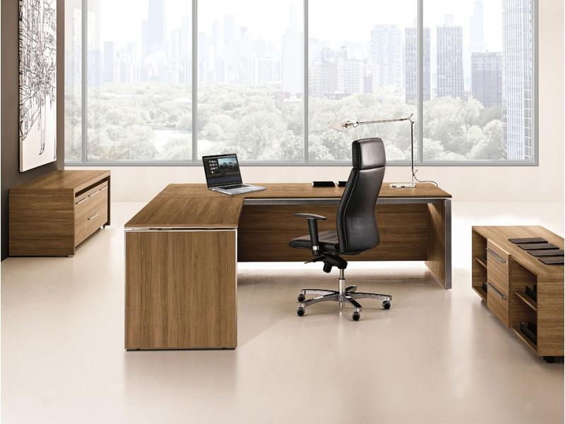 Eckschreibtisch büro  E.O.S. - eleganter Designer Schreibtisch, hochwertig und ...