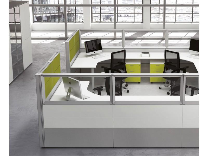 Format office maker individuelle schreibtisch meeting for Schreibtisch trennwand